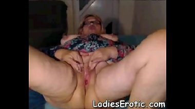 LadiesErotiC Homemade webcam Granny Masturbation