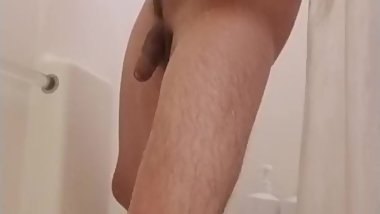 CameraFetish Shaving my dick and balls in the shower