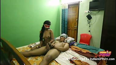 Dark Skin Indian Girlfriend With Her Boyfriend Fucking For Cash