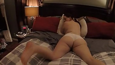 amateur wife sucks and fucks doggy style