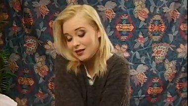 Vintage chick drilled hard and fast just as she likes it