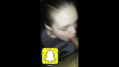 Snapchat friend lets him facefuck