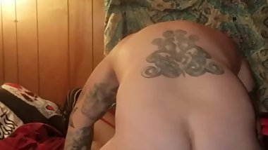 Kinky night with wife part 2 ( watch the cum fly !!! )