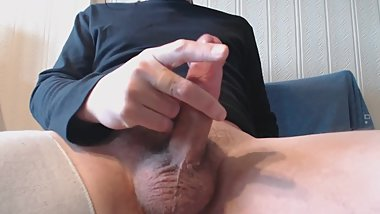 My solo 110 (Sitting jerking hard prick and busting hot nut)