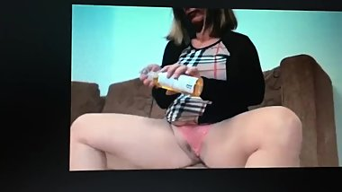 real slut housewife tries first homemade BBC