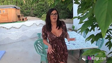 English teacher fuck her student in Mallorca