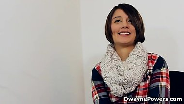Hottie Blackmailed to Take Black Cock