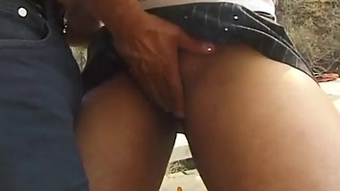 Hot girl sucking monster penis