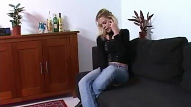 Dutch Blonde Girlfriend handjob