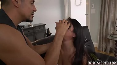 Anal strapon Rough rectal fucky-fucky for