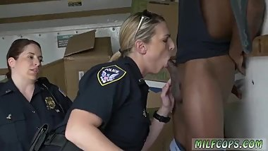 Horny milf anal Black suspect taken on a