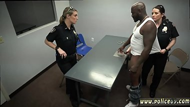 Police fuck black girl first time Milf Cops
