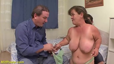 tiny milfs first threesome orgy