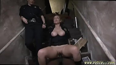Naked car police hot brunette milf anal hd