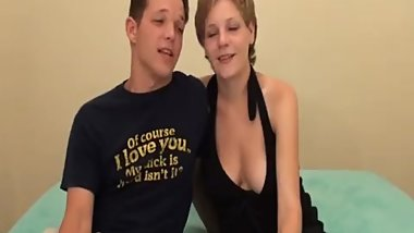 Short Haired Bitch Got Such A Nice Facial Cumshot