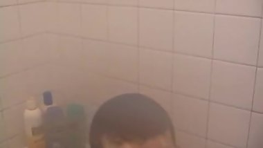 Young Dan Jacks Off and Cums In The Shower