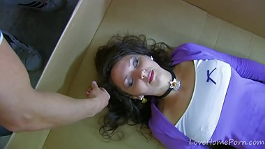 Babe In A Box Craves Good Hard Fucking