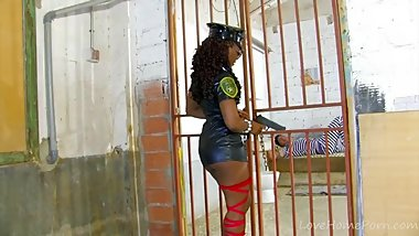 Cute Lady Cop Lets Convict Earn Freedom