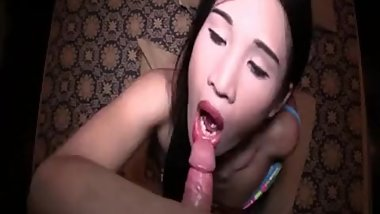 Small Titted Ladyboy Barebacked