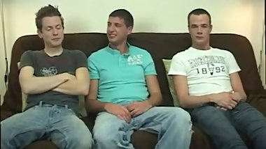 Gay twinks and strapons movie xxx The trio