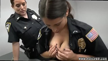 Sucking tits getting handjob xxx Milf Cops